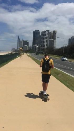 A view of the Gold Coast, Australia