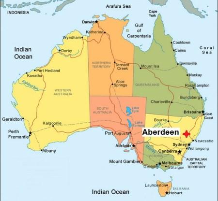 Australia. Aberdeen