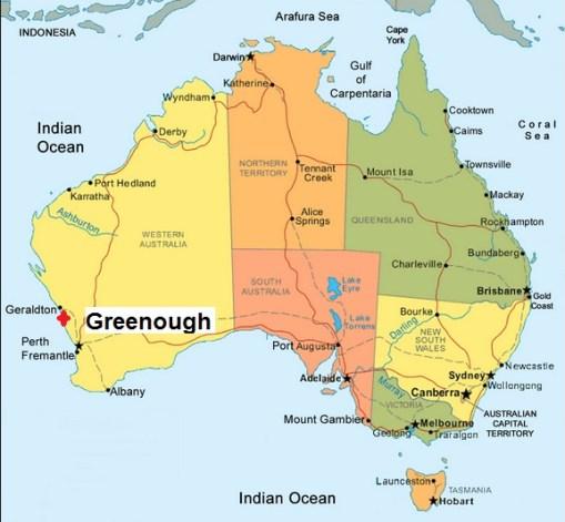 Australia. Greenough