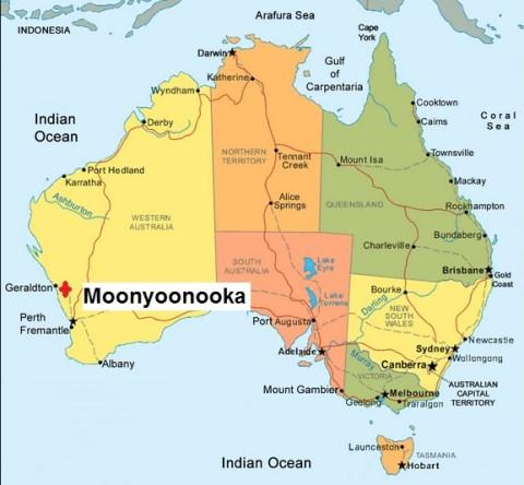 Australia. Moonyoonooka