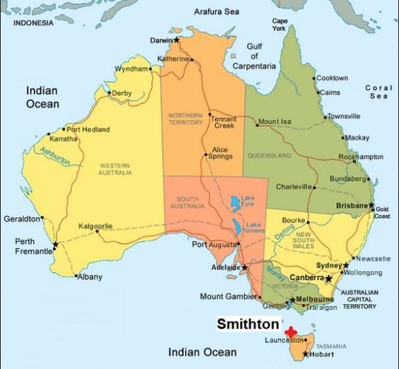 Australia. Smithton