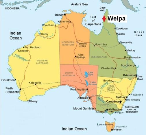 Australia. Weipa