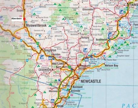 Map - Aberdeen.