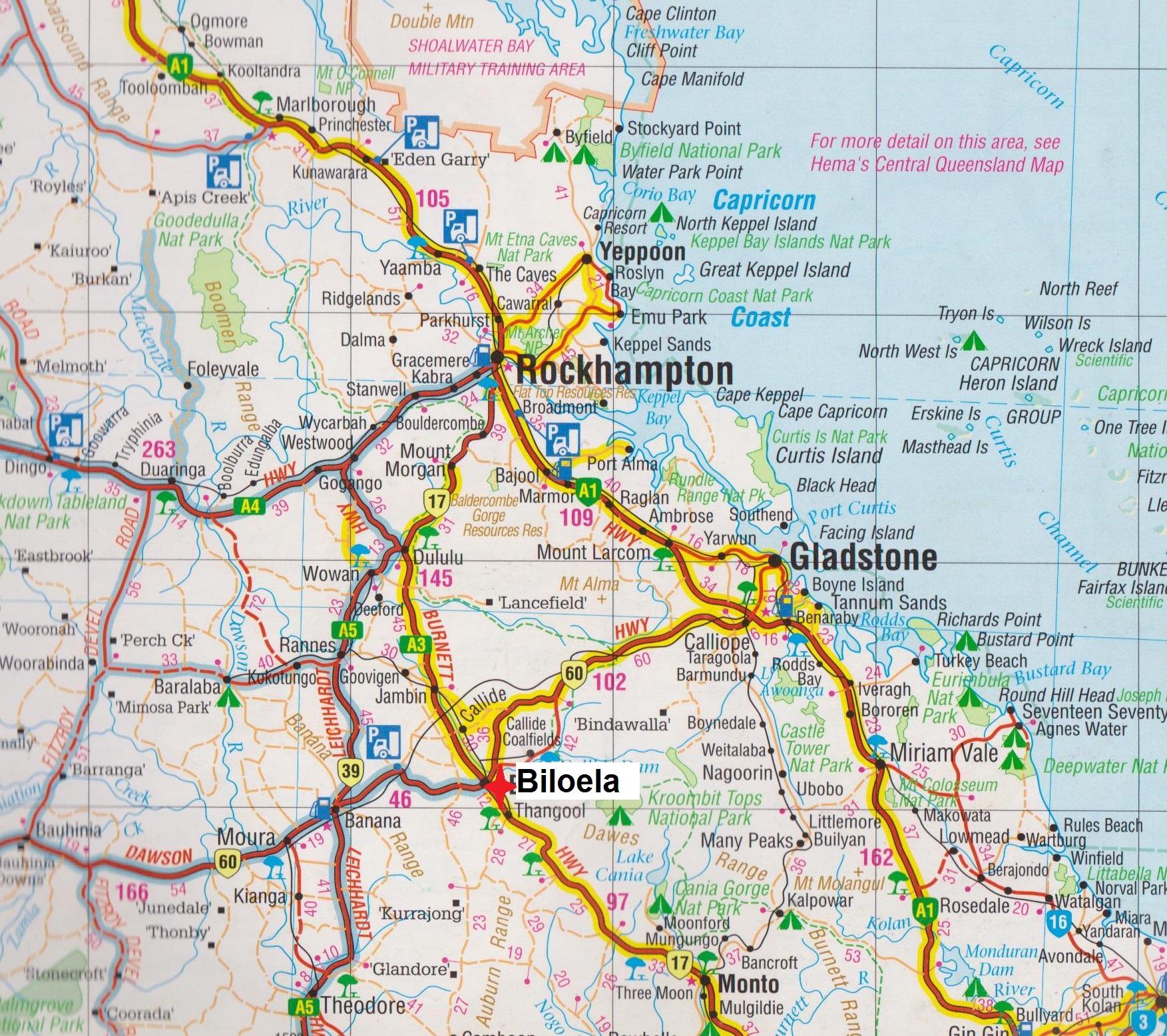 Queensland Australian Abattoirs Page 4 Avondale Caravan Wiring Diagram Map Biloela