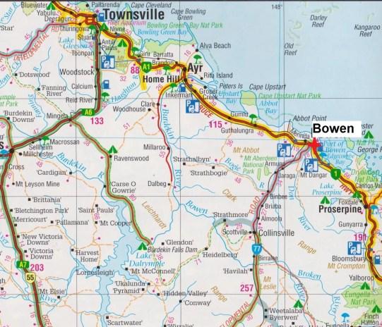 Map Bowen
