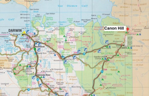 Map - Canon Hill
