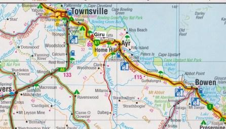 Map. Giru jpg