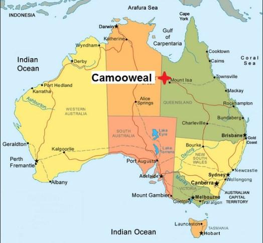 Australia. Camooweal