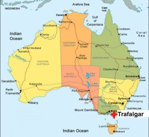 Australia. Trafalgar