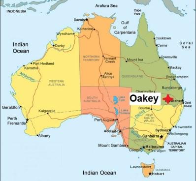 Australia Oakey