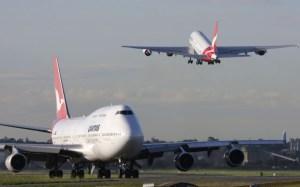 Qantas's international marketshare fell to 19.4 per cent in March. (Seth Jaworski)