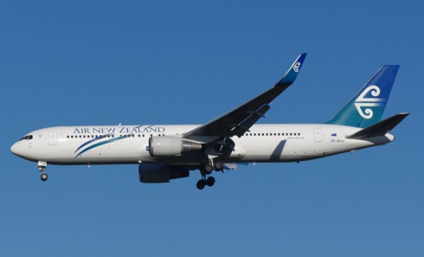 A file image of an Air New Zealand 767.