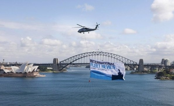 The International Fleet Review's air displays will be a highlight of the event. (RAN)