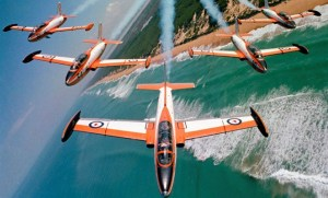 The founding CO of the Roulettes demonstration team, SQNLDR (ret) Philip Dunn, died on February 17. (Defence)