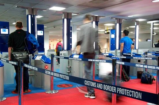 Airports Express Frustration With Border Protection Arrangements