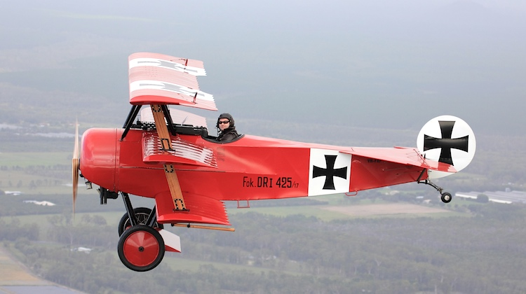 A Fokker DR1, one of several World War One aircraft that will be on display at the 2015 Avalon Airshow. (Avalon Airshow)