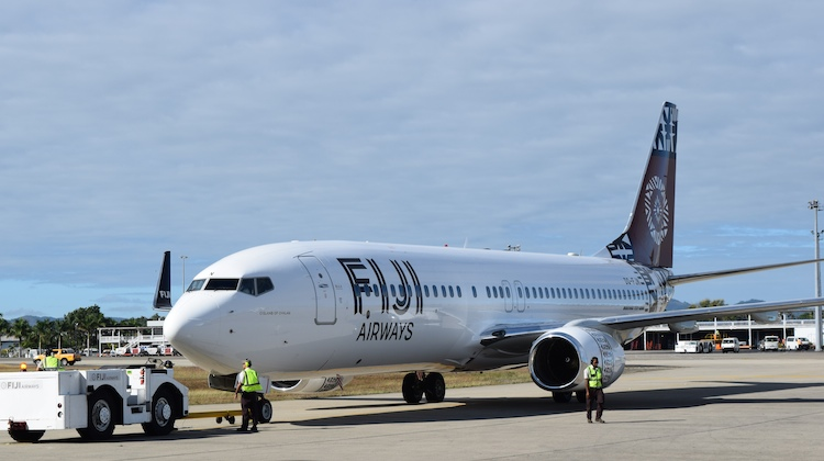 Fiji Airways plans to operate Boeing 737-800s to Adelaide. (Fiji Airways)
