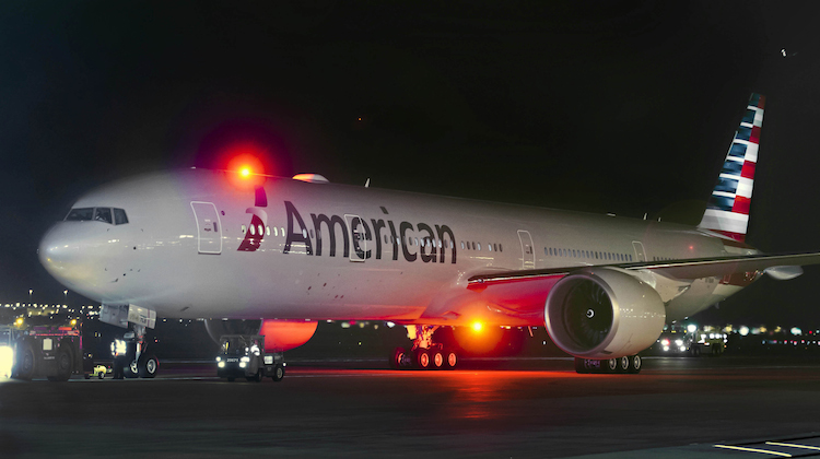 An American Airlines Boeing 777-300ER. (American Airlines)