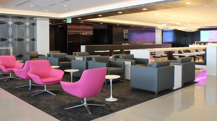 Air NZ's new Auckland international lounge. (Air NZ)