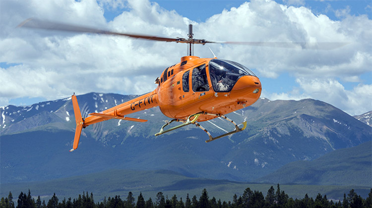 Bell Helicopter's 505 Jet Ranger X. (Bell Helicopter)