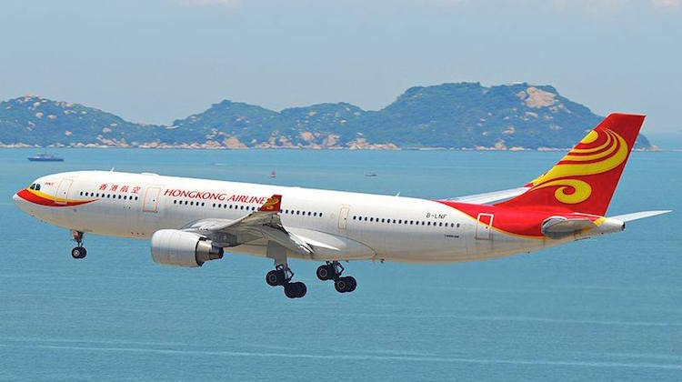 A file image of a Hong Kong Airlines Airbus A330