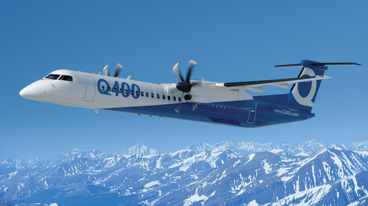 QantasLink is a big operator of Bombardier's Q400s. (Bombardier Commercial Aircraft)