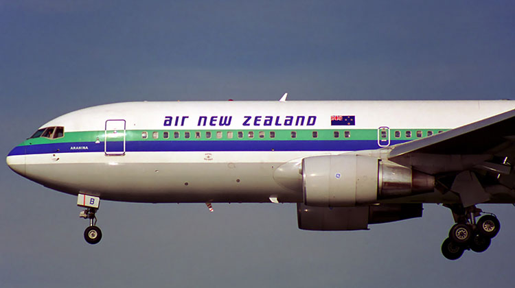Air New Zealand operated the Boeing 767-200ER in addition to the 767-300ER. (Rob Finlayson)