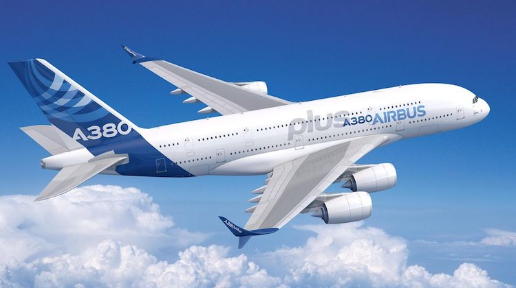 An artist's impression of the Airbus A380plus. (Airbus)