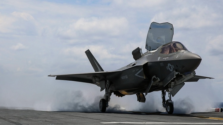 Pentagon grounds F-35 fighter jets in wake of crash