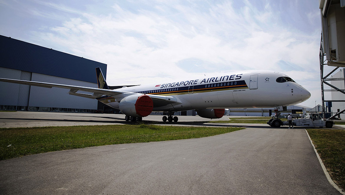 Singapore Airlines\' first A350-900ULR painted - Australian Aviation