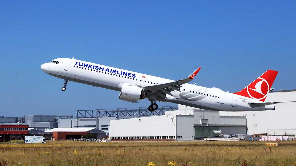Turkish Airlines is the launch customer for the A321neo ACF. (Airbus)