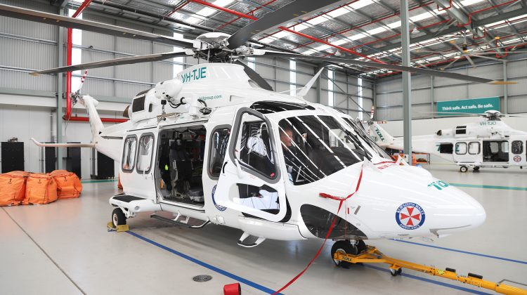 A Toll Air Ambulance AW139. (Robert Brus)