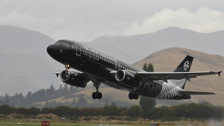 Air NZ A320 taking off (Air NZ)