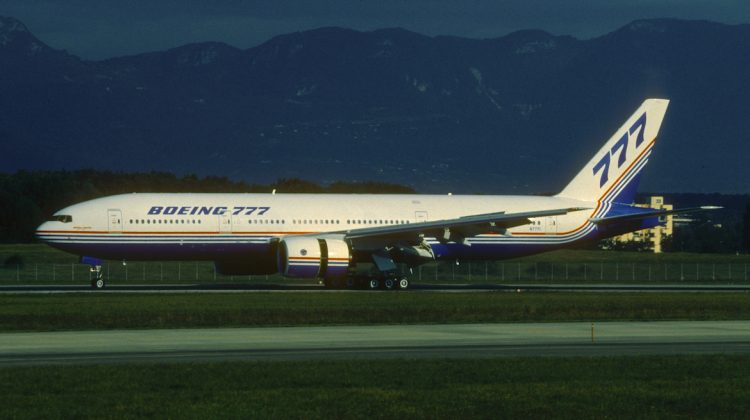 A file image of Boeing 777-200 N7771. (Aero Icarus/Wikimedia Commons)