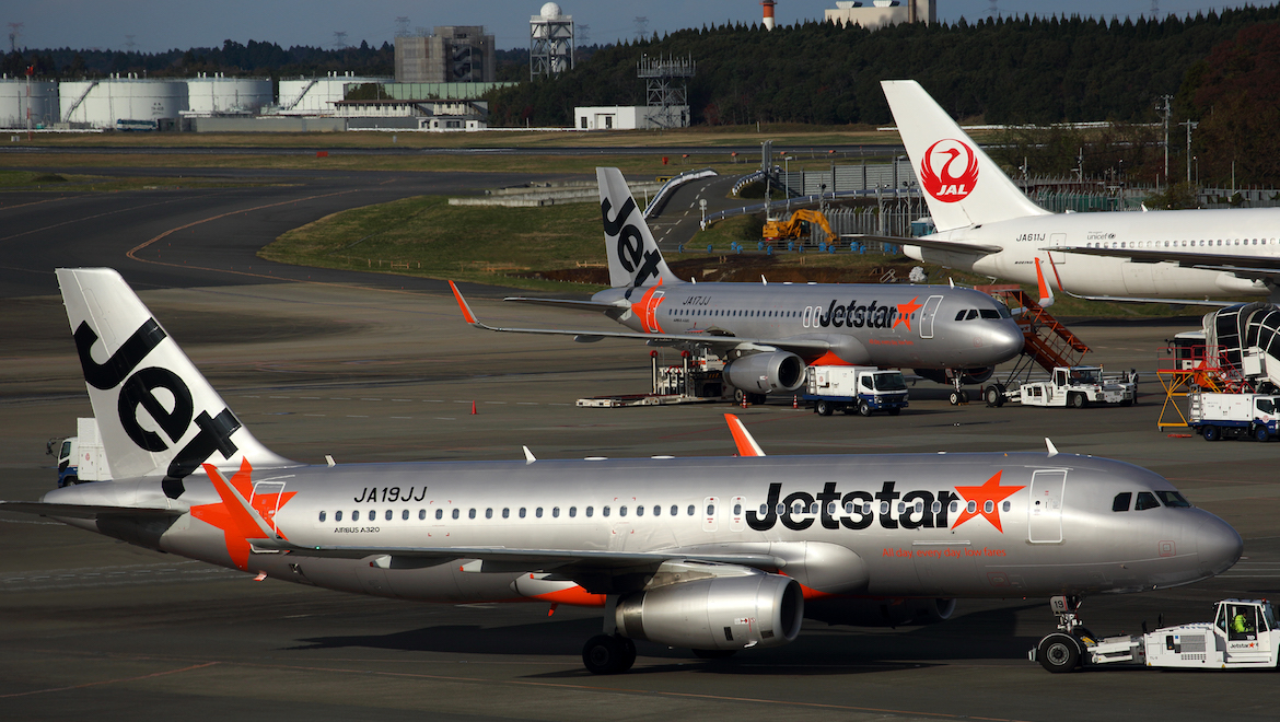 Jetstar Japan is adding Airbus A321LRs to its existing A320ceo fleet. (Rob Finlayson)