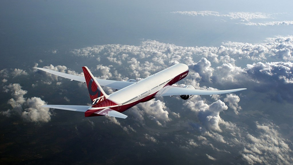 An artist's impression of the Boeing 777X. (Boeing)