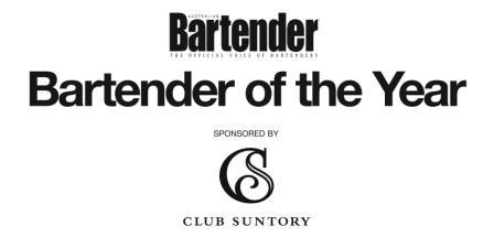 Australian Bartender of the Year 2009