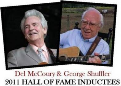 Del Mccoury and George Shuffler