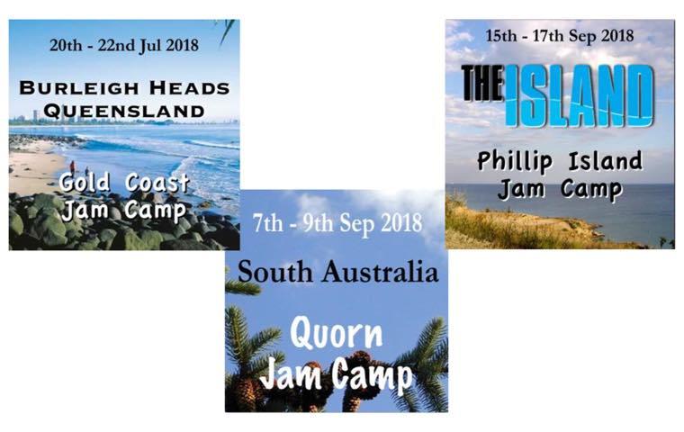 Jam Camps 2018