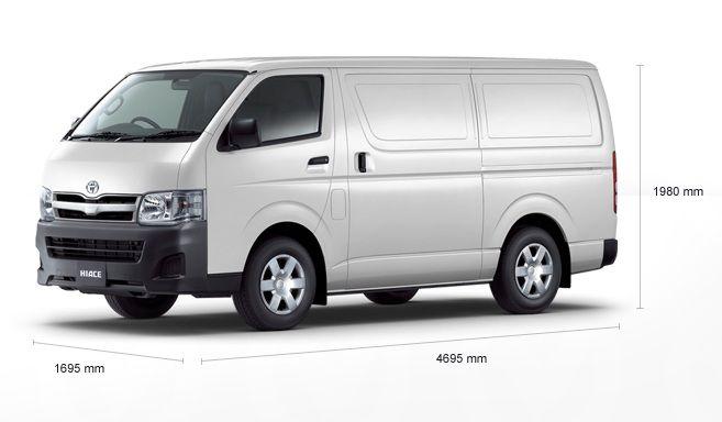 2010 Toyota Mk 5 Ii Hiace Lwb Van