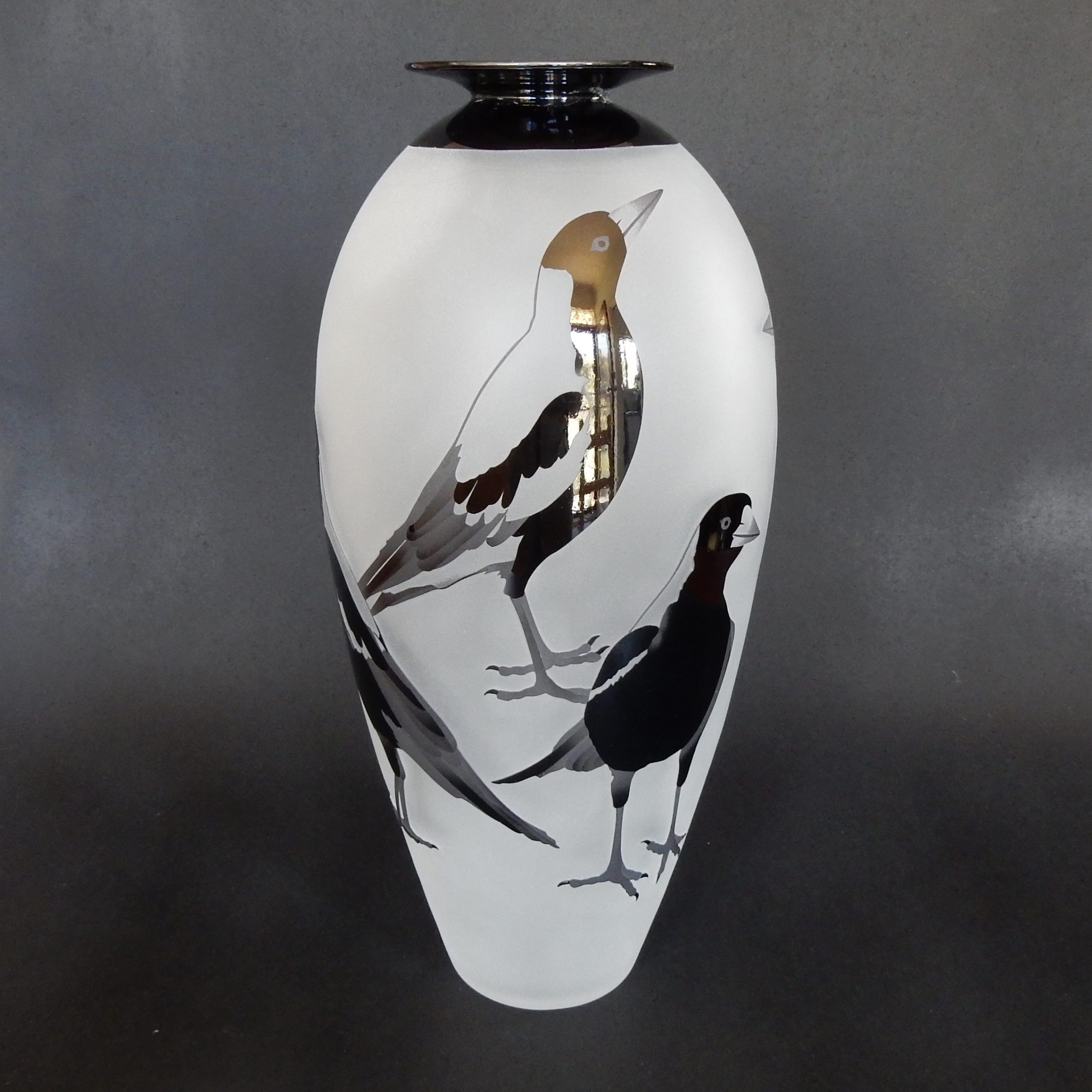 Magpies by Amanda Louden.