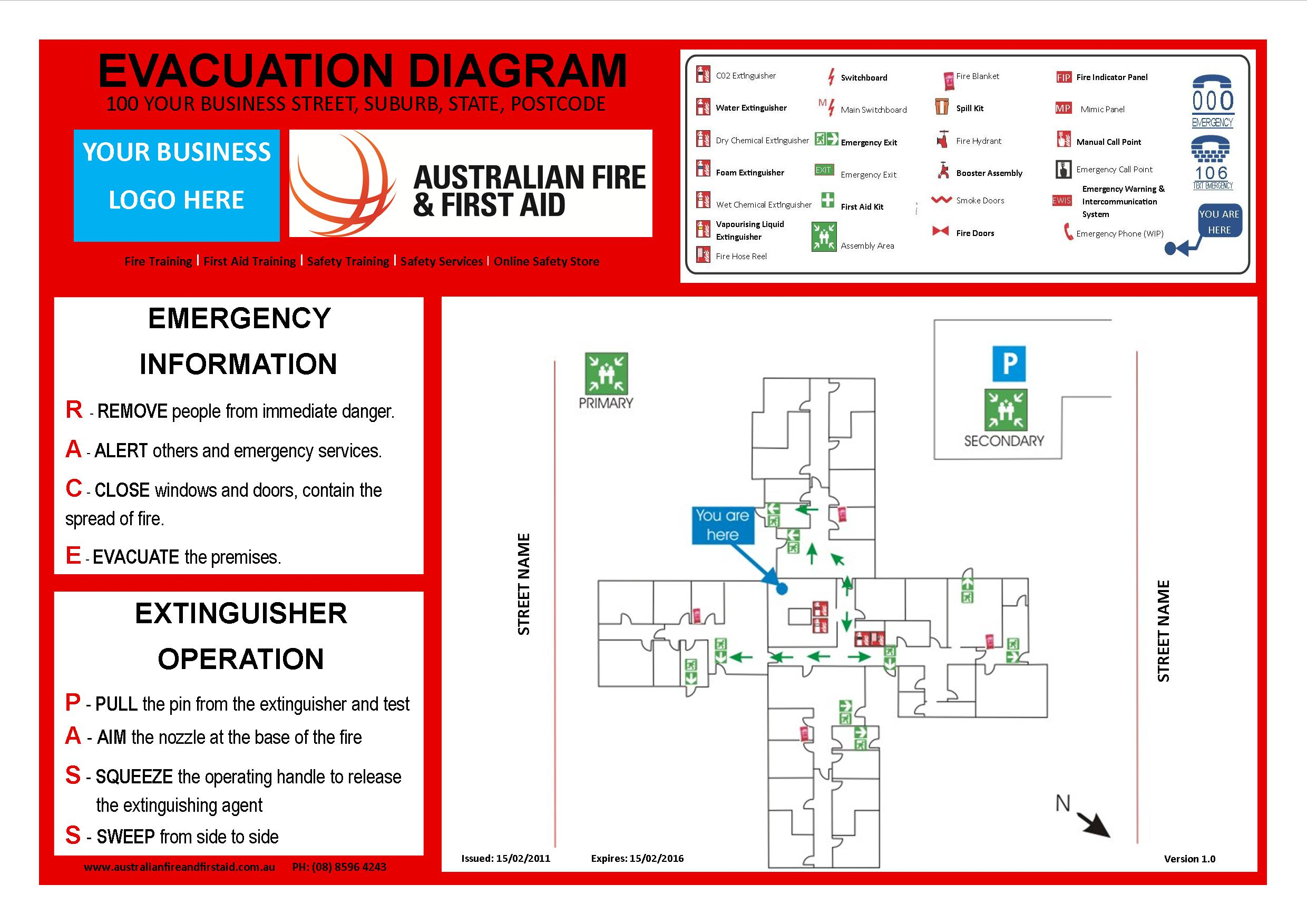 example of fire exit diagram rj11 wiring uk emergency