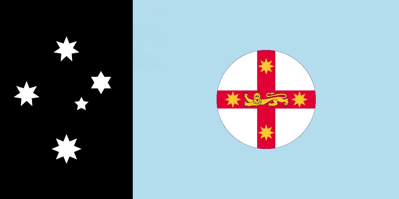 New Australian State Flag Designs  australianflagdesigns