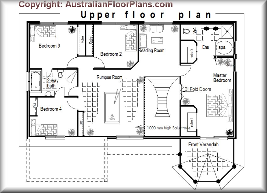 404LH Floor Plans blueprints construction plans cinema NEW