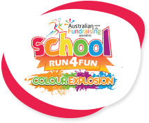 School Colour Explosion™ Run Logo