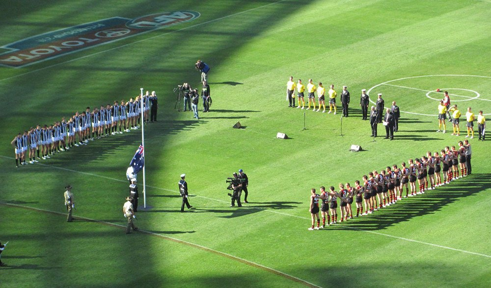 Anzac Day game 2011