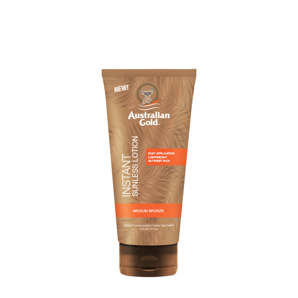 Instant Sunless Tanning Lotion  Australian Gold Sun Care