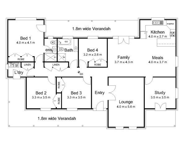The Davidson « Australian House Plans