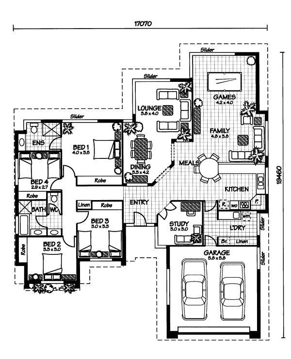 The Flinders « Australian House Plans