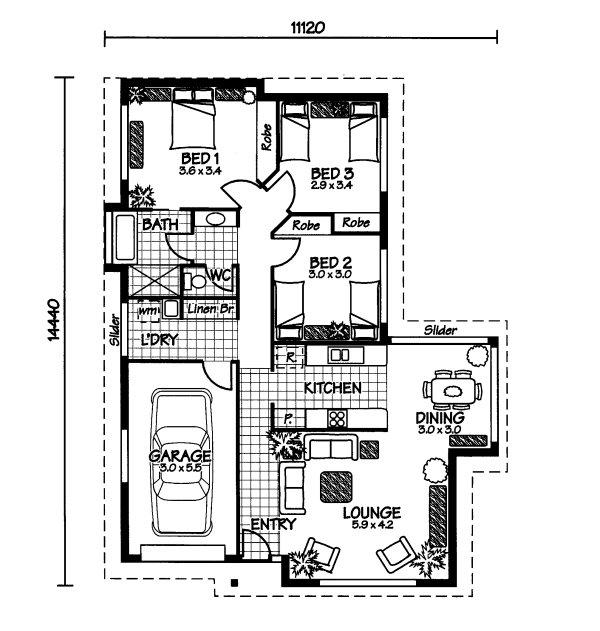 The Wistari « Australian House Plans